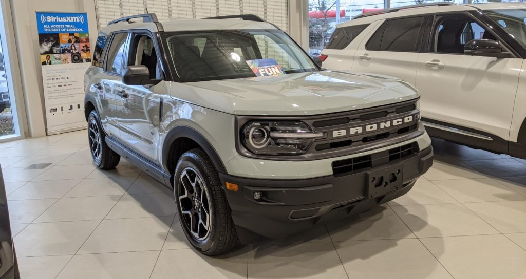 2021 Ford Bronco Big Bend in Toronto