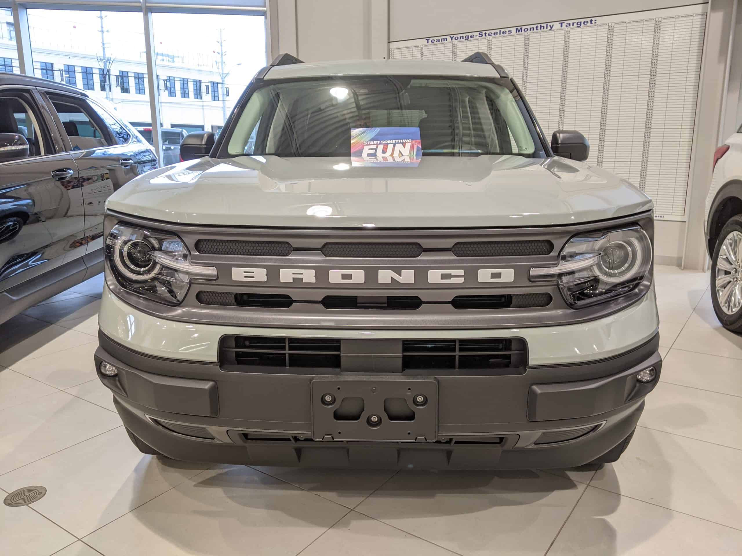 2021 Ford Bronco in Toronto Ontario
