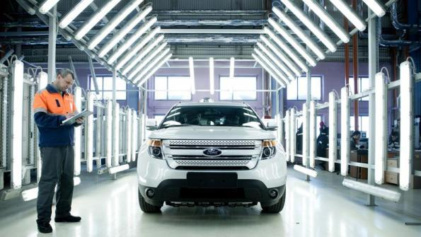 Ford Certified Pre Owned - CPO - a 172 points checklist