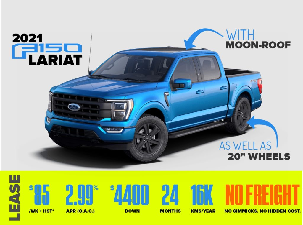 2021 f150 lease