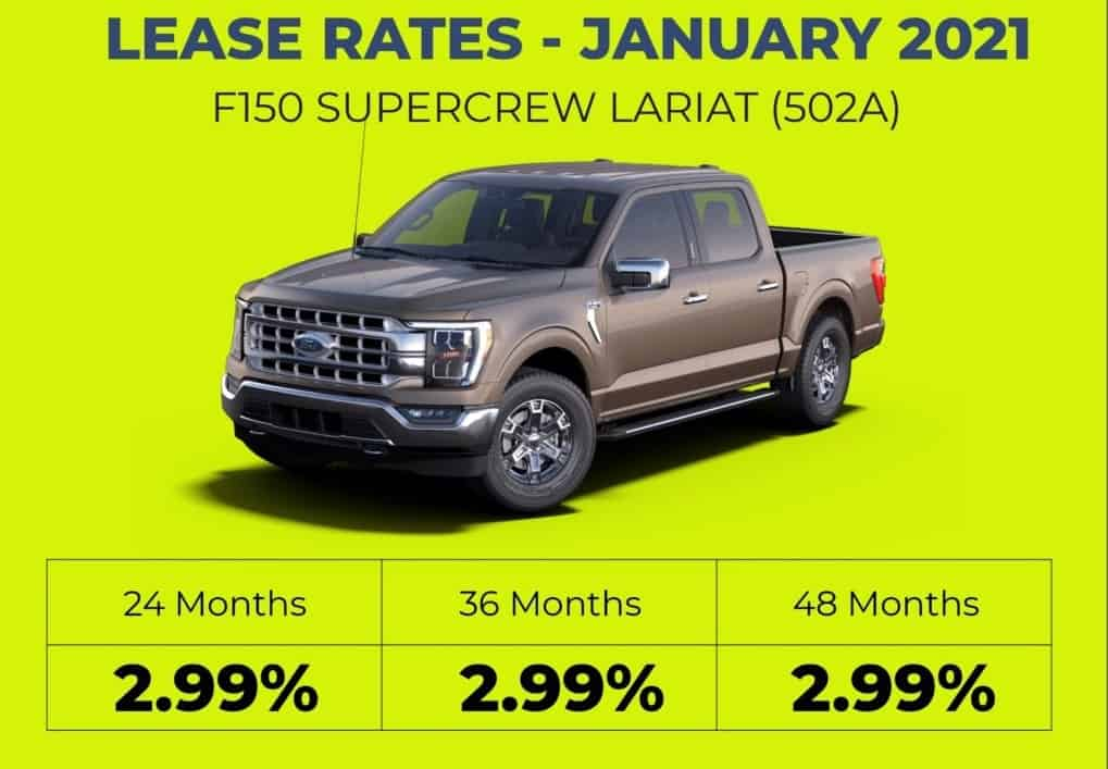F150 Lease Rates