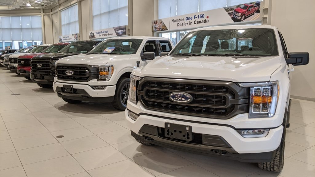 Lease a F150 from Canada's #1 Volume Ford Retailer