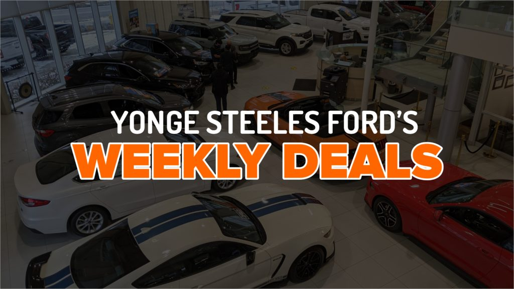 weekly ford deals